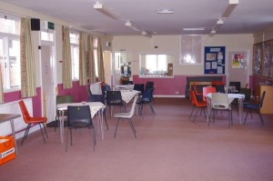 Redecorated hall
